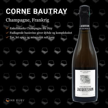 2009 Corne Bautray, Dizy, Champagne Jacquesson, Frankrig